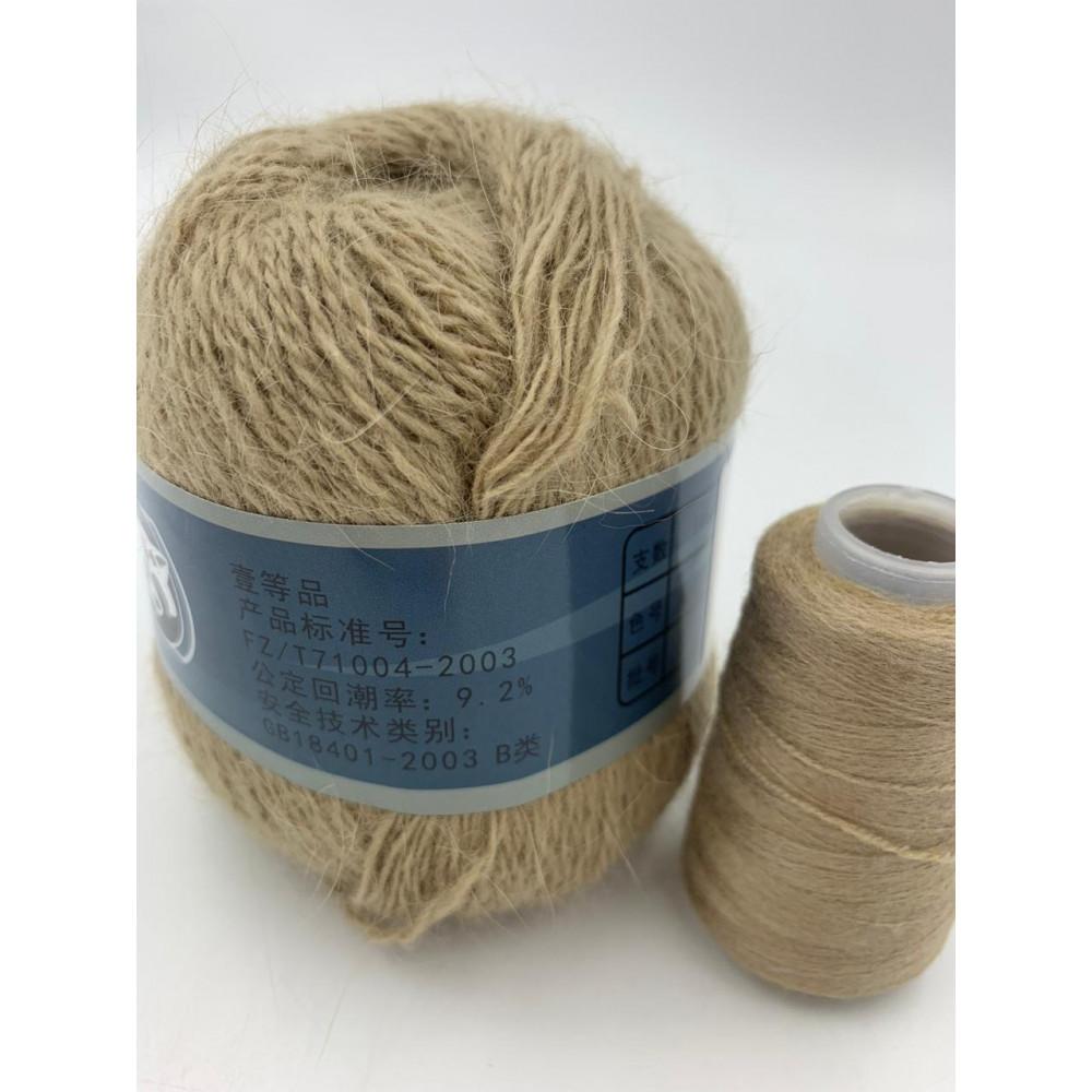 Пряжа Пух норки (816) (Светло-коричневый)