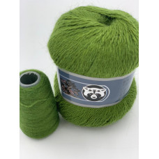 Пух норки (838) (Зеленый мох)