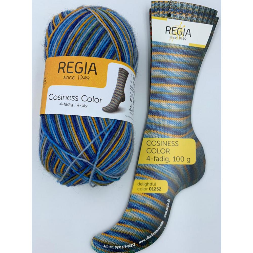 Пряжа Schachenmayr Regia Cosiness Color (01252)
