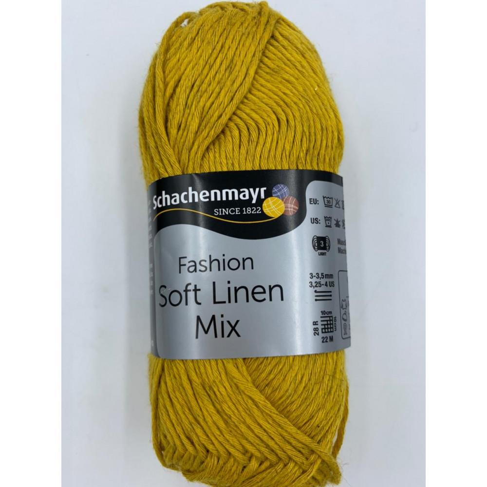 Пряжа Schachenmayr Fashion Soft Linen Mix (00021)