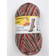 Пряжа Schachenmayr Regia Cotton Color Tutti Frutti (02421) (Арбуз)