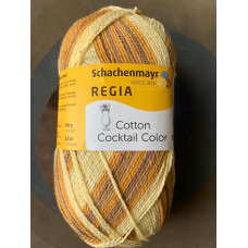 Schachenmayr Regia Cotton Coctail Color (бежевый/коричневый)