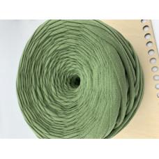 Пряжа Трикотажная пряжа (зеленый)
