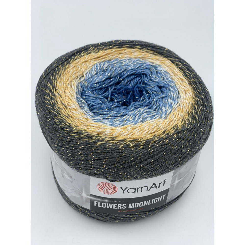 Yarn Art Flowers Moonlight (3287)