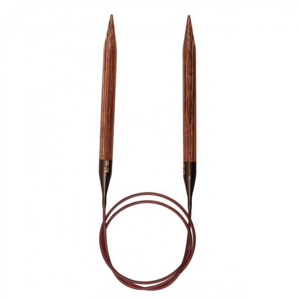 Спицы Ginger Knit Pro  100см/2,5мм (круговые, деревянные)