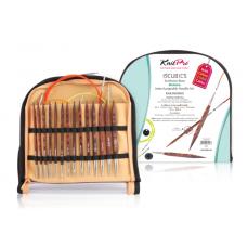 Набор Knit Pro Symfonie Cubics Deluxe (съемные деревянные кубические спицы)