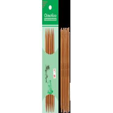 Спицы ChiaoGoo чулочные 15см/6мм (бамбуковые)