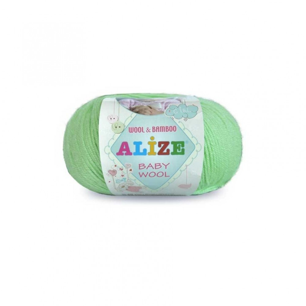 Пряжа Alize Baby Wool (зеленый)