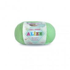 Alize Baby Wool (зеленый)