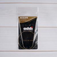 Неразъемные круговые спицы Addi premium на леске 60 см N 3